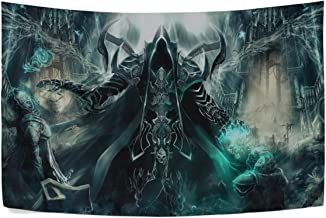 MAXM Art Diablo Iii Reaper of Souls Malthael Wall Hanging Tapestry Bedroom Living Room Beach Doorway Curtain Christmas Thanksgiving Day Decoration 60 X 40 Inch