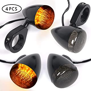4pcs Motorcycle Indicators LED Turn Signal Lights Universal Blinker 12V for Motorcycle Motorbike
