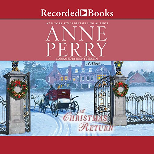A Christmas Return audiobook cover art