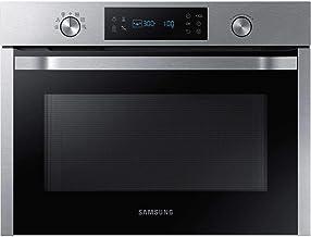 Samsung NQ50K3130BS Integrado 50L 900W Acero inoxidable - Microondas (Integrado, 50 L, 900 W, Giratorio, Tocar, Acero inoxidable, Abajo)