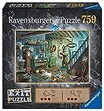 Ravensburger EXIT Puzzle 15029 - Gruselkeller - 759 Teile Puzzle für Erwachsene und Kinder ab 12 Jahren