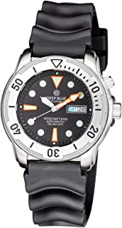 PRO TAC 1000M Automatic Diver- Silver Bezel Black DIAL