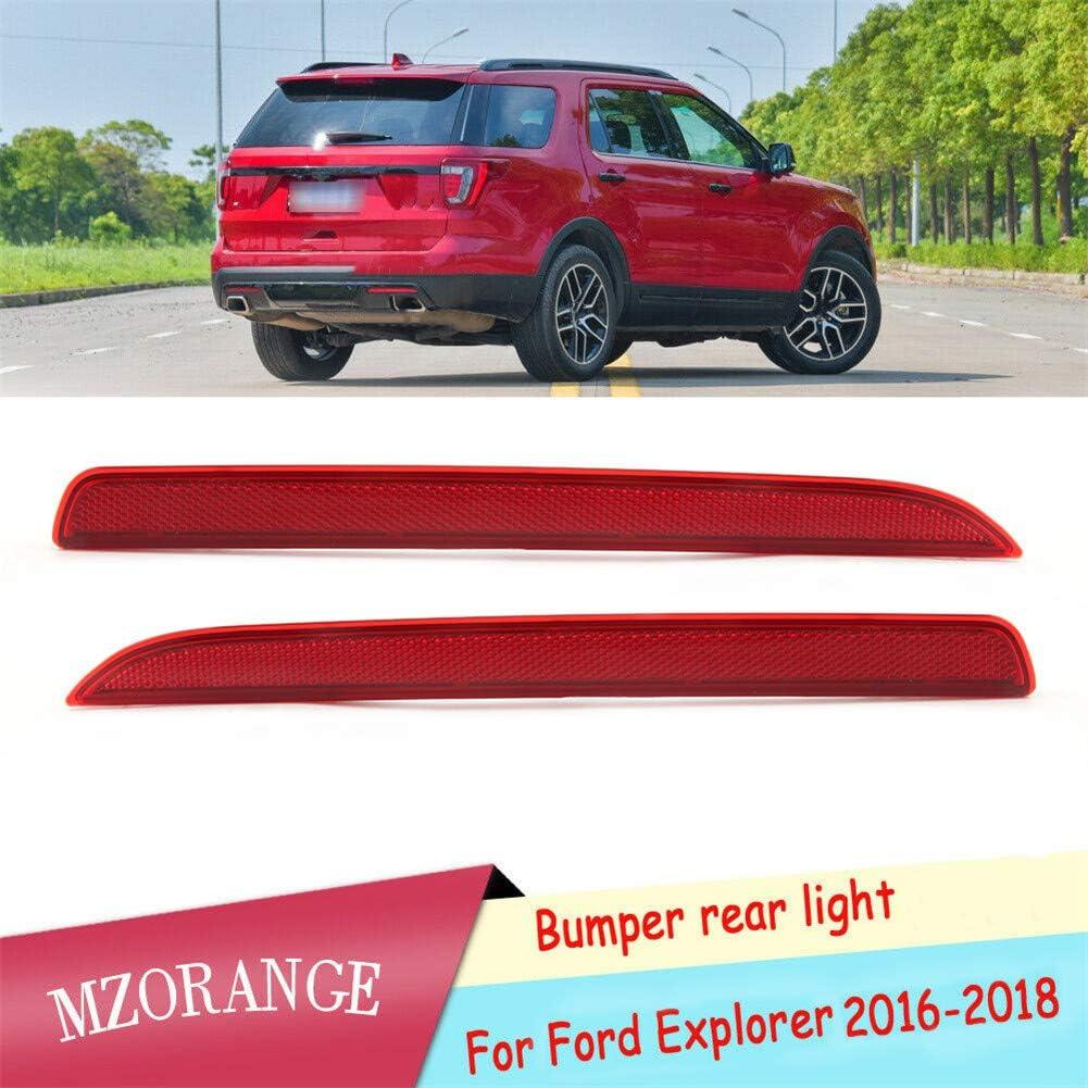 MZORANGE Rear Bumper Reflector Stop Brake Dallas Mall Cover Light Ford E 40% OFF Cheap Sale For