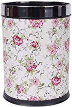 Uncovered Trash Can Home Kitchen Bathroom Trash Bin Living Room 12L Recycling Bin Kitchen,Bathroom,Office (Color : B)