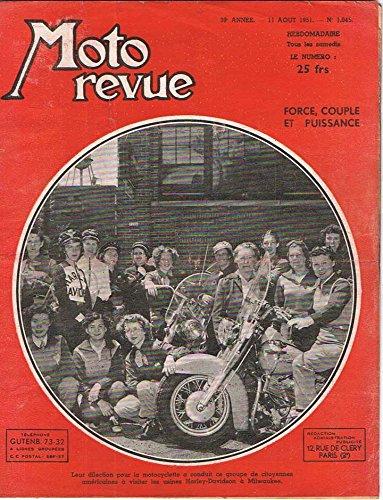 Moto Revue Nº 1045 - 1951