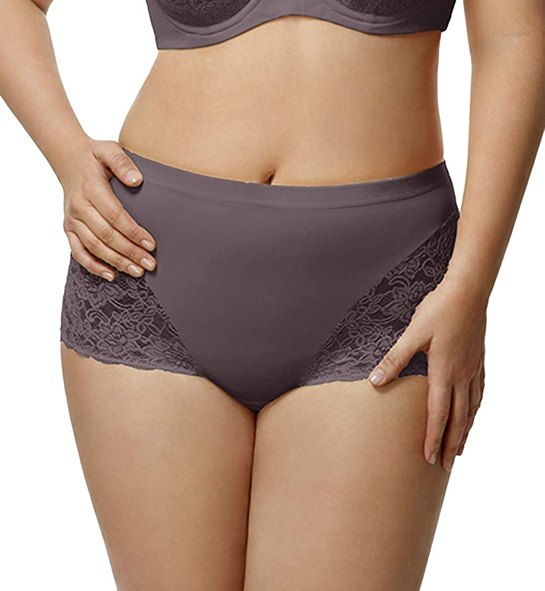Elila Stretch Max 68% OFF Lace Cheeky Credence Panty 3311 Full
