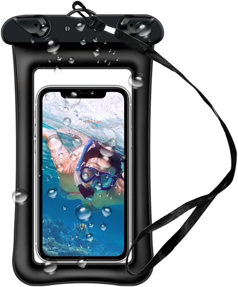 Universal Waterproof Case, IPX8 Cellphone Dry Bag up to 7