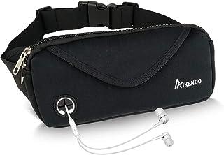 AIKENDO Small Fanny Pack Running Belt,Workout Waist Pack Pouch for Men & Women,Water Resistant Runners Belt for Running,Jogging,Gym,Travelling