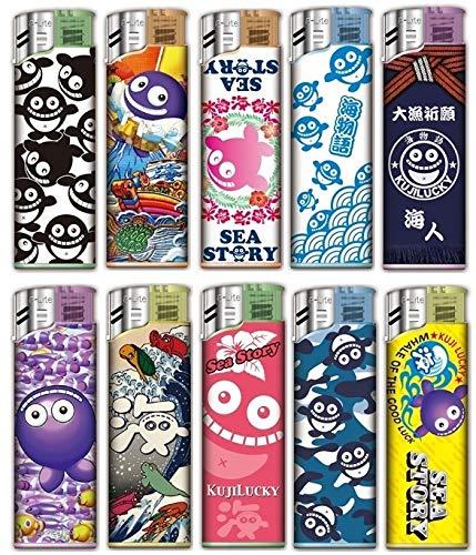 海物語 BEST HIT ライター 全10種セット 海物語 ぱちんこグッズ 海使い捨てライター