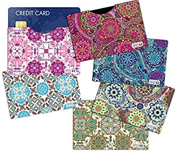 6  RFID Blocking Sleeves Credit Card Holder Vera Bradley Inspired to Protect Your Identity from Theft  Variety 2