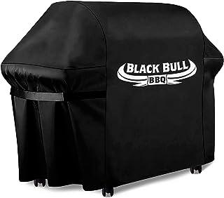Black Bull BBQ - Housse pour Barbecue [122cm x 61cm x 147cm] - Housse pour Barbecue innovante - Housse pour Barbecue résis...