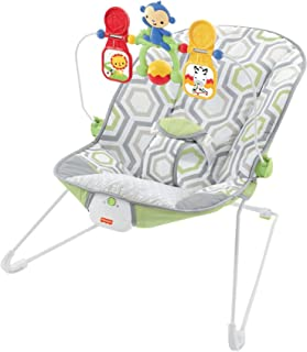 Fisher-Price Baby's Bouncer, Geo Meadow(0+ months)