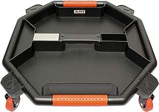 ABN Tool Creeper - 19 Inch Rolling Toolbox Mechanics Tool Tray Floor Crawler, Under Vehicle...
