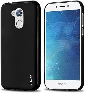 J&D Case Compatible for Huawei Honor 6A Case, [Drop Protection] [Slim Cushion] Shock Resistant Protective TPU Slim Case for Huawei Honor 6A Bumper Case - Black