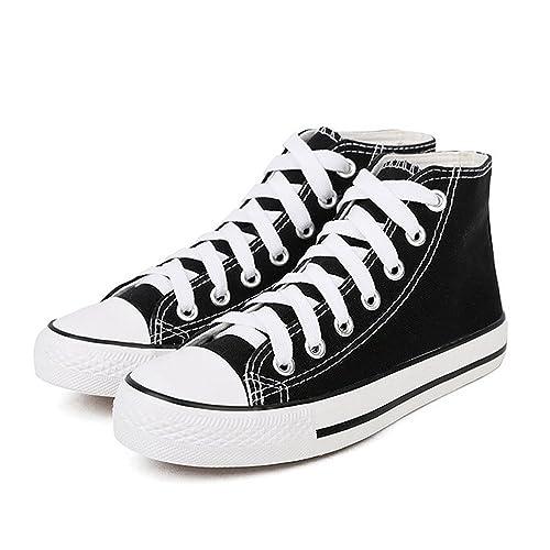 887b33b2d9ed Magone Womens High Top Classic Canvas Fashion Sneaker