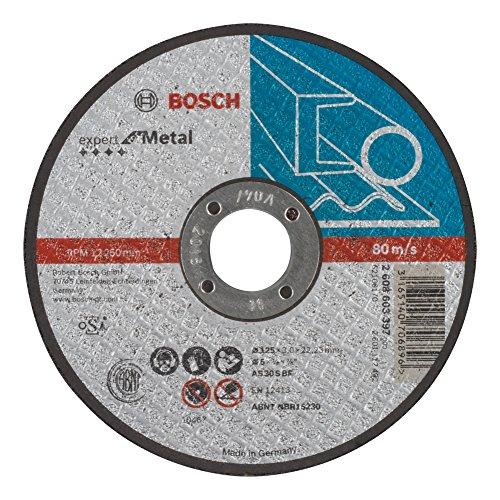 Bosch 2608603397Trennscheibe flach Expert for Metal As 30S BF 125mm 3,0mm
