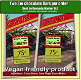 JOUVAY 75% Chocolate Bar (JOUVAY, Dark & ​​Rich) - 2 Bares @ 3.5oz EA - Producto de Granada