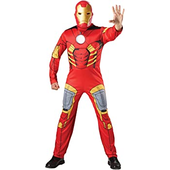 Avengers - Disfraz de Iron Man musculoso, para adulto (Rubies ...