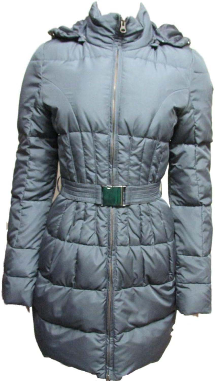 Bloomingdale's Women's Down Coat Jacket Pamela XS Grey
