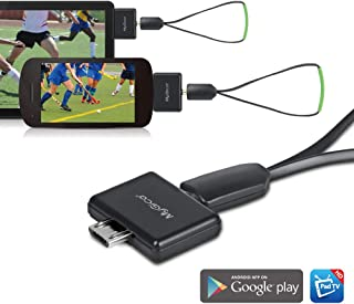 MyGica tv Tuner for Watching ATSC Digital TV Anywhere You go with Micro-USB Connector on Android Mobile or Pad (PT681)