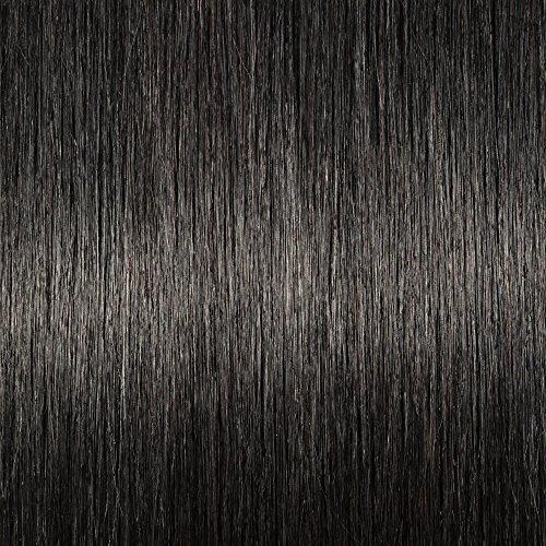 SEGO Clip in Pony Echthaar Bangs One Piece Haarteil In Front Hair Stirnfransen Extension Fringe natürliche 100% Remy Haar Pony ohne Tempel-10g Schwarz#1