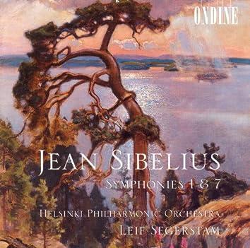 Sibelius, J.: Symphonies Nos. 1 and 7