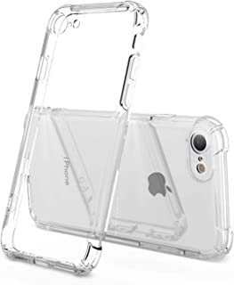 iPhone 7 Case,iPhone 8 Case,ANHONG iPhone 7/8 Case with Shock Absorption Bumper Protective Heavy Duty Case for iPhone 7 / iPhone 8 - Crystal Clear