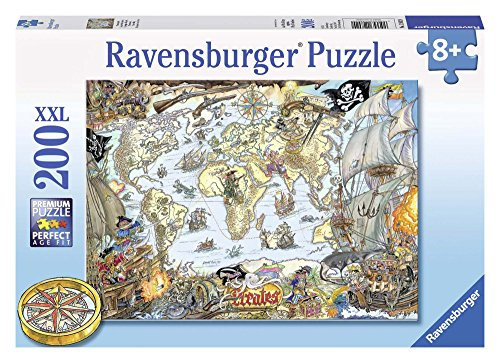 Puzzle - La Carte des Pirates