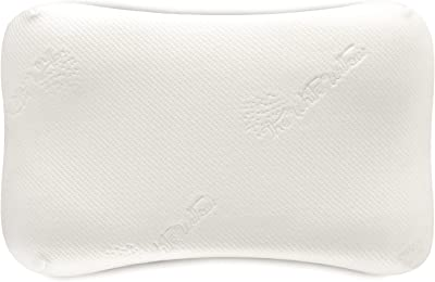"""The White Willow Cervical Ergonomic Orthopedic Memory Foam Wave Designed Big Size Bed Pillow For Sleeping, Neck Support, Back Pain Relief For All Sleeping Positions (26.5""""L x 15.5""""W x 4.5""""H) -White"""
