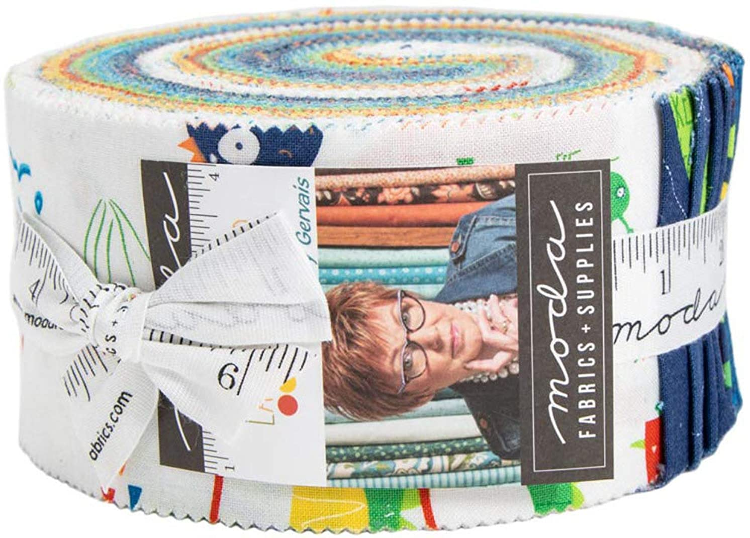 Later Alligator Jelly Roll by Sandy Gervais for Moda Fabrics
