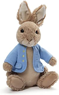 GUND Classic Beatrix Potter Peter Rabbit Stuffed Animal Plush, 6.5