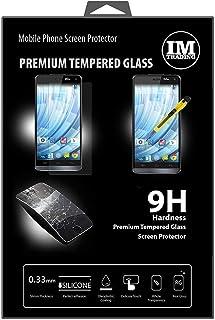 ENERGMiX Premium härdat skyddsglas kompatibel med WIKO Getaway pansar hårt glas skydd glas extremt reptåligt säkerhetsglas
