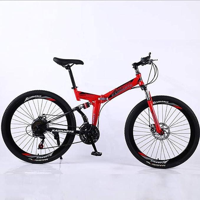 JLFSDB Bicicleta de montaña Mountainbike Plegable 26