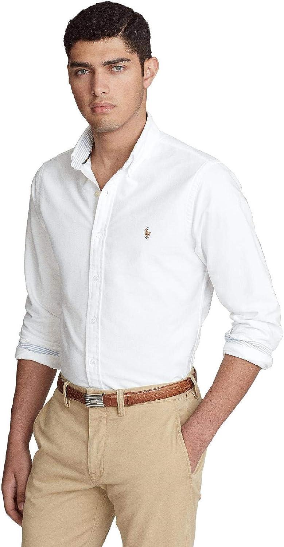 Ralph Lauren - Camisa R. Lauren OXFORT Hombre Color: 007 ...