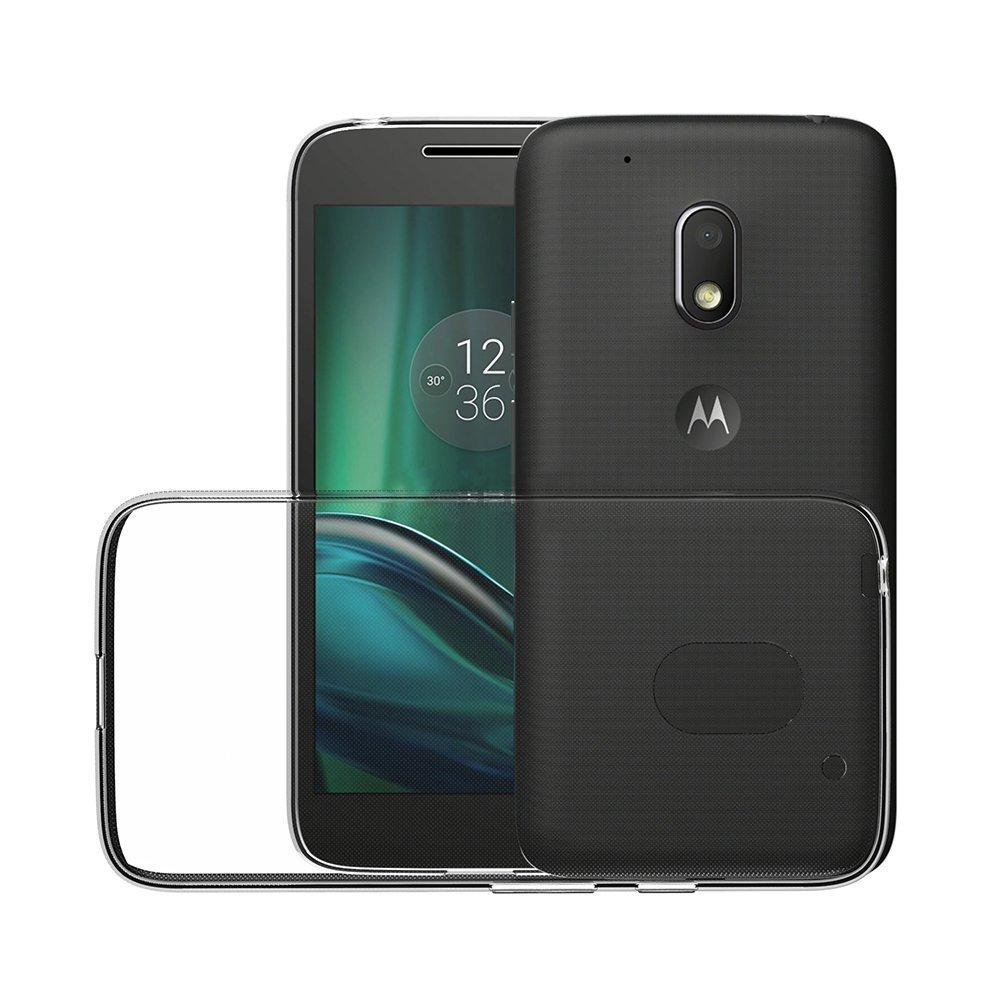 ivoler Funda Carcasa Gel Transparente para Lenovo Motorola Moto G4 ...