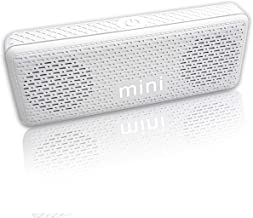 D.G GADGET Wireless Mini Bluetooth Speakers with Pairable Stereo (Silver)