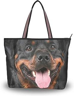 MyDaily Damen-Schultertasche Rottweiler, Hundetasche