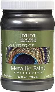Modern Masters ME244-32 Metallic Steel Gray, 32-Ounce