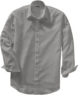 Edwards Men's Batiste Cafe Shirt Small Platinum