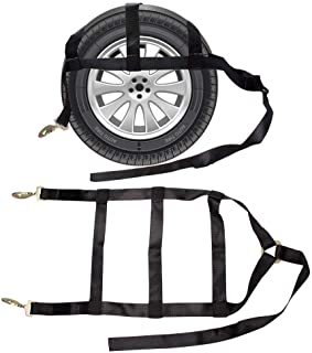 BANG4BUCK Two Dolly Tie Down Straps with Snap Hook, 2