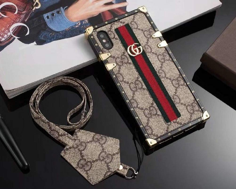 gucci case amazon comnew classic elegant pu leather style cases for apple iphone 6 6s plus cellphone back