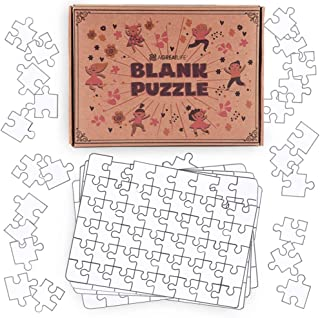 aGreatLife Blank Puzzles DIY Activity Kit for Kids