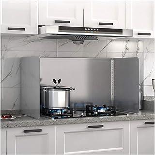 lpzsmd Plaque Anti Projection Cuisine Protection Poêle Protection Anti-éclaboussures en Acier Inoxydable pour poêle à Frir...