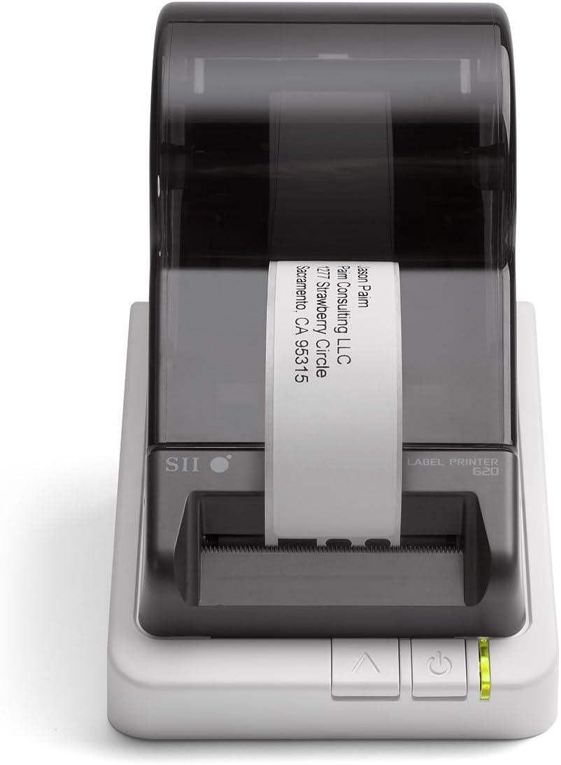 Seiko Instruments Smart Label Printer 620, USB, PC/Mac, 2.76 inches/second (Renewed)