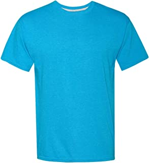 Hanes X-Temp Unisex Performance T-Shirt 2P_Neon Blue...