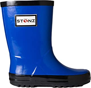 Stonz Natural Rubber Rain Boot (Toddler/Little Kid/Big Kid) Grey
