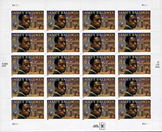 james Baldwin 20 x 37 Cent US Postage Stamps Scot #3871