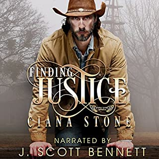 Finding Justice audiobook cover art