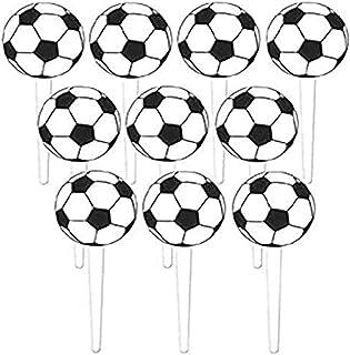 Amscan Soccer Picks 75mm-36 Pcs