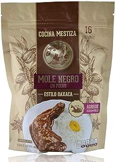 Cocina Mestiza - Mexican Stew Condiment Paste (Mole Negro) from Mexico - 14.1 oz / 400 gr